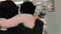 this. this is the best gif. this one right here. okay and the one of frerard kissing but this one too