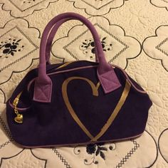 Victoria secret bag Very pretty new never used purple PINK Victoria's Secret Bags Cosmetic Bags & Cases