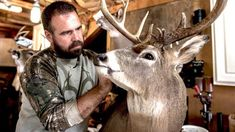 Heads of State: All About State-Record Bucks Big Deer, Deer Hunting Tips, Sussex County, Head Of State, West Virginia, Giraffe, Fishing, Animals, Felt Giraffe