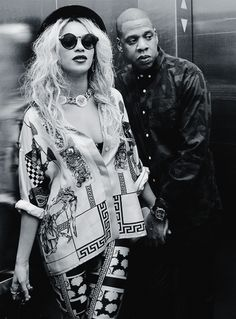Dope outfit Beyonce with Jay-Z