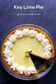 Best Key Lime Pie Recipe | gimmesomeoven.com