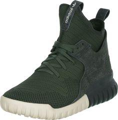Adidas Tubular X Primeknit Herren Sneaker Grün: Amazon.de: Schuhe & Handtaschen