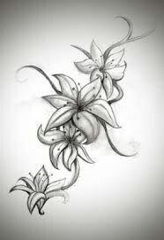 Jasmine flower tattoo for my foot.? | Tattoos | Pinterest