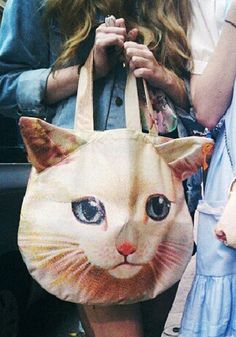 3D Cat Shoulder Bag