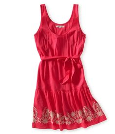 Embroidered Belted Dress <3 :)   There's a blue one too from Aeropostale @Elizabeth Bosler