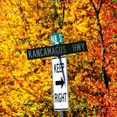 Kancamagus Highway White Mountains New Hampshire NH Foliage Autumn