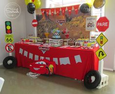 diy cars party decorations
