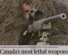 Canada's most lethal weapon...Enough said!