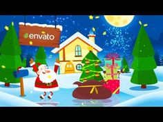 Santa Merry Christmas | After Effects template