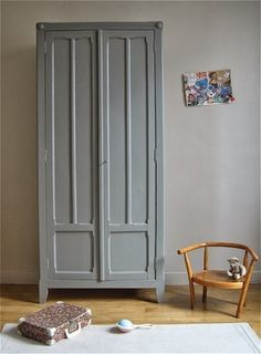 1000 images about armoire parisienne on pinterest armoires comment and diy and crafts. Black Bedroom Furniture Sets. Home Design Ideas