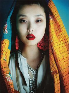 "loquence: ""Pyjamas Viaggio in Oriente"" Sung Hee  Jay Shinphotographedby Kenneth Willardt A Magazine, September 2012"