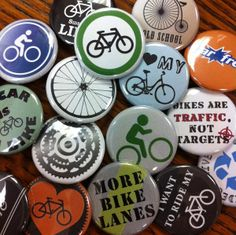 Celebrate Bike Day with custom bike buttons. Our collections have transportation buttons, or ask us about making custom bike buttons for your event. Buttons, Bike, Day, Bicycle, Bicycles, Knots, Plugs, Button