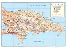 Dominikanische Republik Karte im Dominikanische Republik Reiseführer http://www.abenteurer.net/1513-dominikanische-republik-reisefuehrer/