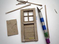 Miniature Windows #windows #miniature #mini #art #pencere #istanbul #diorama #scale #museum #nasılyapılır #paper #mukavva
