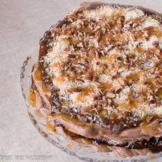 Sweet Twist of Blogging: German Chocolate Meringue Cake