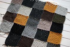granny squares from Sandra Juto