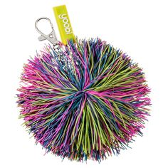 // Pom Pom Keychain - Multicolor