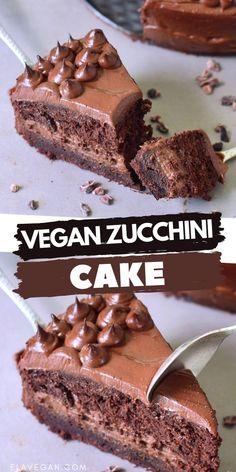 Healthy Vegan Desserts, Vegan Dessert Recipes, Vegan Treats, Delicious Vegan Recipes, Vegan Foods, Vegan Dishes, Just Desserts, Sugar Free Vegan Desserts, Healthy Cake Recipes