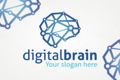 Check out Digital Brain Logo Template by Dizaino-paslaugos on Creative Market