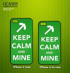Funny Keep Calm and Mine Inspired