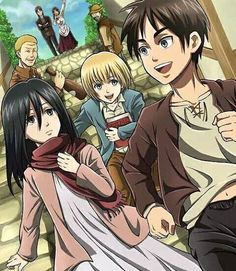 AOT or SNK characters as children