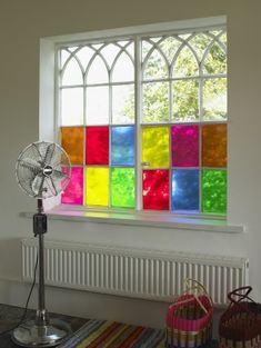 colored window film