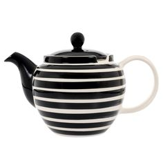 Buy the Black & White 6 Cup Teapot online, part of the eclectic, globally-inspired tableware selection available to purchase from Whittard of Chelsea.
