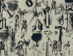 Jim Dine 'Tools in the Earth' 2007 Tamarind Institute.