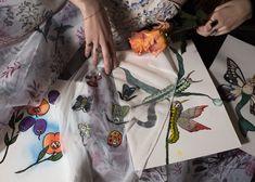 #hermionedepaula #handembroidery #fabricswatches #bridalart #artwork #bridalinspiration Hermione, Couture Dresses, Bridal, Wedding Dresses, Artwork, Fashion, Haute Couture Dresses, Bride Dresses, Moda
