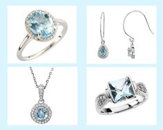 The March Birthstone is Aquamarine & it is said to increase intelligence & make one youthful. For more on March birthstone go to our blog http://www.matsonjewelry.com/march-birthstone-aquamarine-2/