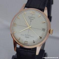 Reloj Duward restaurado y personalizado con apellido iesus