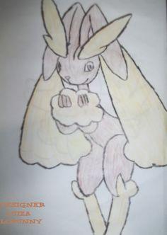 Lopunny Pokémon desenho à lápis