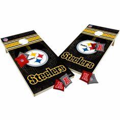 Pittsburgh Steelers XL Shields Cornhole Game