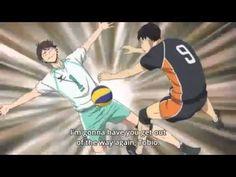 Haikyuu season 2 episode 20 - Oikawa and Kageyama funny moment - YouTube