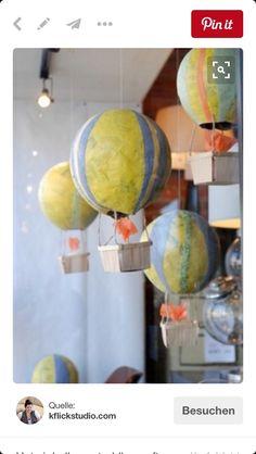 Heissluftballon kleistern