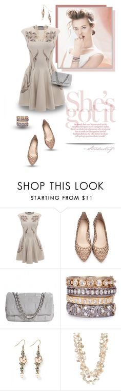 """""""Falling Slowly"""" by stardustnf ❤ liked on Polyvore featuring GINTA, Alexander McQueen, Loeffler Randall, Chanel and Sissy Yates"""