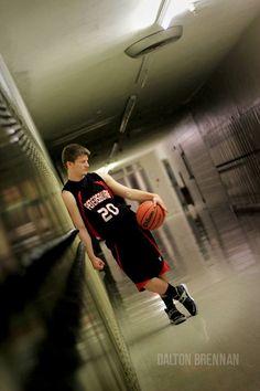 @Dalton Brennan photography. senior basketball picture