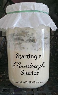 Learn how to start a sourdough starter, step-by-step, for the full 7 days until it& strong enough to start baking with. Learn how to start a sourdough starter, step-by-step, for the full 7 days until its strong enough to start baking with. Amish Recipes, Cooking Recipes, Braai Recipes, Kitchen Aid Recipes, Artisan Bread Recipes, Yeast Bread Recipes, Sourdough Bread Starter, No Yeast Bread, Sourdough Starter Recipe Without Yeast
