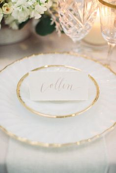Blush Calligraphy for Weddings | photography by http://jamieraephoto.com