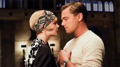 The Great Gatsby Photo with Leonardo DiCaprio and Carey Mulligan - Baz Luhrmann directs this highly-anticipated adaptation of the F. Scott Fitzgerald novel, due in theaters this summer. Jay Gatsby, Look Gatsby, Gatsby Style, 20s Style, Style Hair, Baz Luhrmann, Carey Mulligan, Scott Fitzgerald, Zelda Fitzgerald