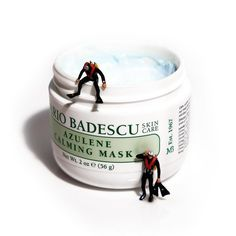 """Does your skin feel out of balance? Dive right into a jar of Azulene Calming Mask. 🤿 """"If your skin is on the sensitive side (and even if it's not) you've got to try this calming, hydrating, clay-based mask. It's chock full of quality ingredients like Olive Leaf Extract, Evening Primrose, and Vitamin E which leaves your skin calm and looking great. Don't just take it from me though—this mask has a cult following amongst top makeup artists and aestheticians too!""""—@jakepeglermorgan Massage Facial, Top Makeup Artists, Evening Primrose, Vitamin E, Beauty Skin, Summer Skin, Chock Full, Skin Care, Calming"""
