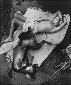 © Sally Mann. #boy and his #dog. #photography