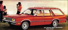 1979 Ford Fairmont Station Wagon with Exterior Decor Option