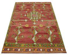 Oriental Design Kilim rug 81x50 feet Area rug by TurCollection