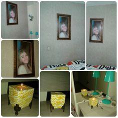Para minha amiga Sheila (minhas artes decorando o quarto dela)