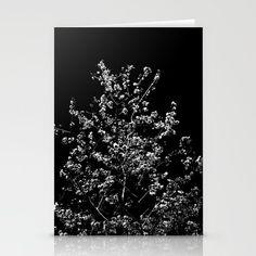 "Night cherry blossoms STATIONERY CARDS SET OF 3 FOLDED CARDS (5"" X 7"") $12.00 ©JoeChanPhotoStudio  #sakura #NYC #contemporaryart https://society6.com/product/night-cherry-blossoms_cards#s6-7176661p22a16v71"