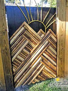 #HogarTecnocasa Puertas decoradas con bambú