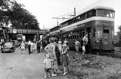 The Swansea & Mumbles Railway – Hyde Park Now Swansea Bay, Wales Map, Bristol Channel, Rail Car, Double Deck, Great Western, Public Service, South Wales, Public Transport