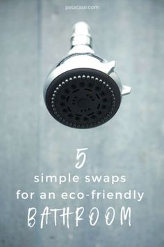 5 Simple Swaps for an Eco-Friendly Bathroom– Pela Case Eco Bathroom, Bathroom Interior, Essential Oils Room Spray, Eco Friendly House, Natural Cleaning Products, Natural Products, Sustainable Living, Sustainable Fashion, Zero Waste