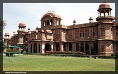 Lalgarh Palace is one of the chief testaments of the city that was built by Maharaja Ganga Singh in 1902. He built this palace in the memory of his father Maharaja Lal Singh Ji. The palace is an architectural marvel and is beautifully constructed using red sandstone.  This architectural testament was designed by Sir Swinton Jacob and is famous for it's craftsmanship. Chief attractions of the historic monument are the latticework and filigree work in sandstone.